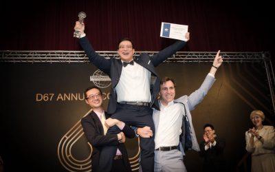 Toastmaters國際演講協會比賽 – 客製化獎座